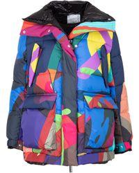 Sacai Kaws Printed Blouson Jacket - Multicolour