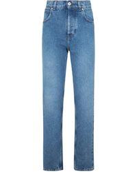 Loewe Anagram Pocket Tapered Jeans - Blue