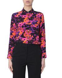 Equipment - Floral Print Shirt - Lyst