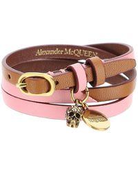 Alexander McQueen Skull Bracelet - Multicolour