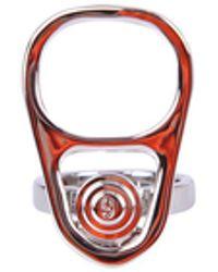 MM6 by Maison Martin Margiela Brass Ring - Metallic