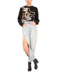Maison Margiela Printed Sweatshirt - Black
