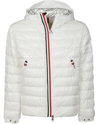 Moncler Coats White