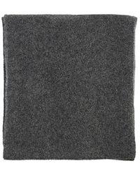 Fabiana Filippi Alpaca, Wool And Silk Scarf - Gray