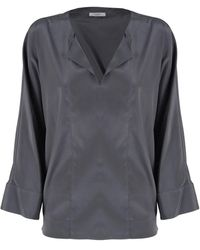 Peserico Shirts Grey