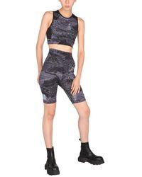 McQ Cyclist Cotton Blend Shorts - Black
