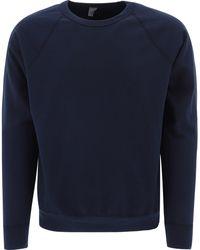 "Save Khaki ""supima"" Sweatshirt - Blue"