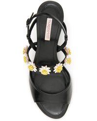 Fabrizio Viti Bea Open-toe Heeled Sandals - Black