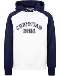 Dior Kenny Scharf Hoodie Sweatshirt - Blue