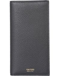 Tom Ford Long Bifold Wallet - Gray