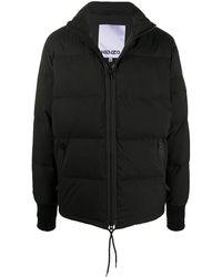 KENZO Tiger Patch Puffer Jacket - Black