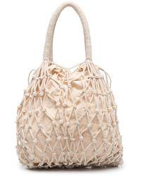 P.A.R.O.S.H. Bags.. Cream - Natural