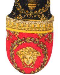 Versace Baroque Intarsia Slippers - Multicolour
