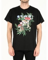 Amiri Printed T-shirt Black
