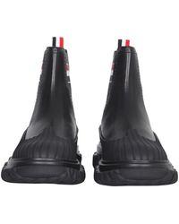 Thom Browne Chelsea Boots - Black