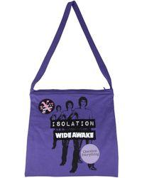 Raf Simons Isolation Tote Bag - Purple