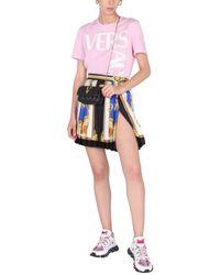 Versace Crew Neck T-shirt - Pink