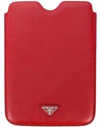 Prada Ipad Case - Red