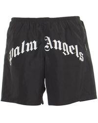 Palm Angels Shorts Black