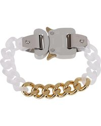 1017 ALYX 9SM Gold-tone And Transparent Chain Bracelt - Metallic