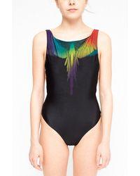 Marcelo Burlon Eva Swimsuit - Black