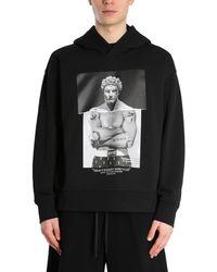 Neil Barrett Pbjs726sq534s1874 Other Materials Sweatshirt - Black