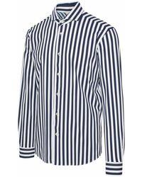 Brian Dales Polyamide Shirt - Blue