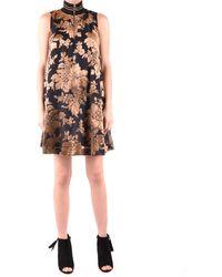 Twin Set Dress Elegant - Black