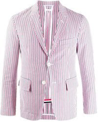Thom Browne Jackets Red