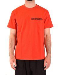 CALVIN KLEIN 205W39NYC T-shirt - Orange