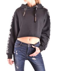 Philipp Plein Cotton Sweatshirt - Black