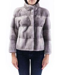 FRAME Coats Gray