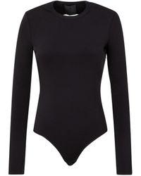 Givenchy Open-back Body Suit M - Black