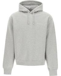 Jacquemus Logo Sweatshirt - Gray