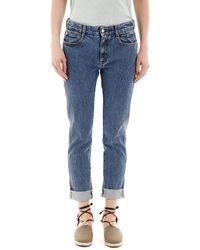 Stella McCartney Skinny Boyfriend Jeans 25 Cotton,denim - Blue