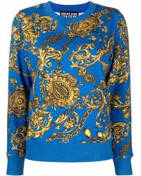 Versace Jeans Couture Jumpers Blue