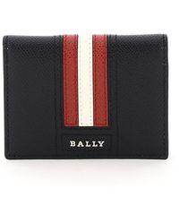 Bally Talder Bi-fold Cardholder - Black