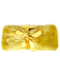 Blumarine Scarfs Yellow
