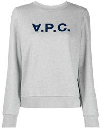 A.P.C. Jumpers Light Grey