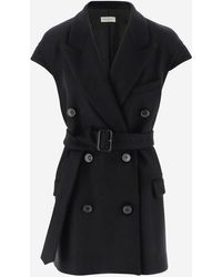 Dries Van Noten Coats - Black