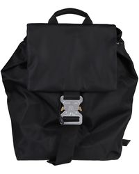 1017 ALYX 9SM Black Canvas Backpack