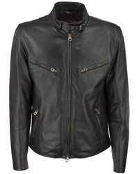 Stewart Nuvola Rush - Genuine Leather Jacket - Black