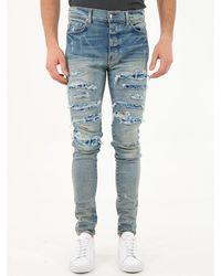 Amiri Pj Trasher Jeans - Blue