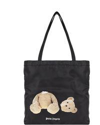 Palm Angels Shoulder Bag - Black