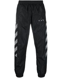 Off-White c/o Virgil Abloh Diag-stripe Track Pants - Black