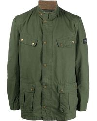 Barbour Coats Green