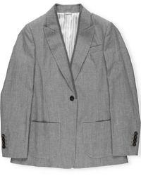 Brunello Cucinelli Jackets Light Grey