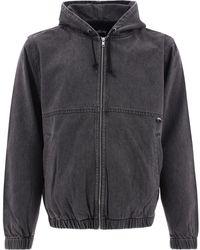 Stussy Denim Work Jacket - Grey