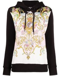 Versace Jeans Couture Sweaters Black - Multicolor