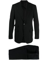 Tom Ford Single-breasted Tailored Suit - Black